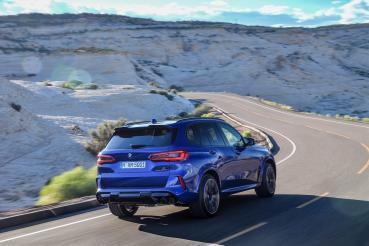 BMW M砲X新世代V8戰力到齊!新X5 M正式在台上市
