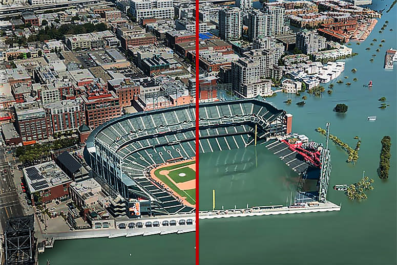 10 Images Show What Coastal Cities Will Look Like After Sea-Levels Rise