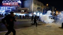 Hundreds of Jewish supremacists chant 'Death to Arabs' as tensions boil over in Jerusalem clashes