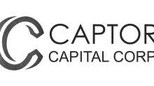 Captor Capital Announces Grant of Stock Options