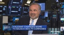 Valeant changes name to Bausch Health Companies, CEO expl...