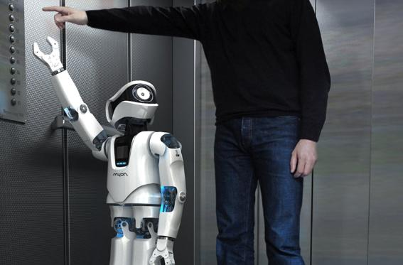 Muon the humanoid robot is our ideal best friend