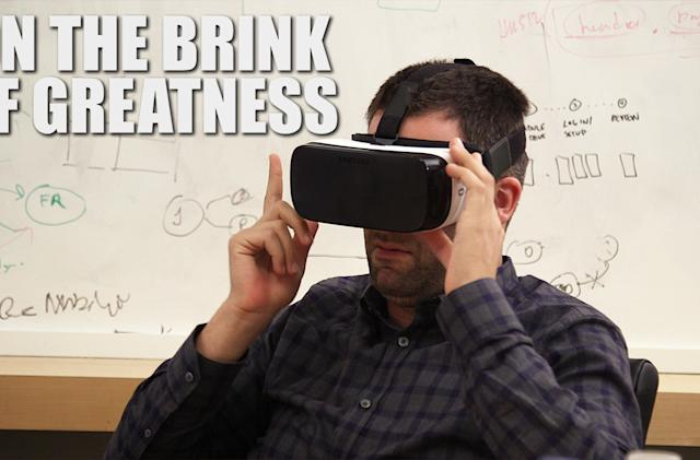 On the Brink of Greatness, episode one: Virtual reality is the future