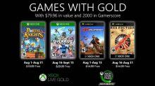 Games with Gold de agosto traz dois jogos do Xbox original; veja lista