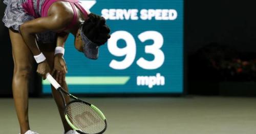 Tennis - WTA - Charleston - Charleston : Venus Williams manque 2 balles de match et s'incline au deuxième tour