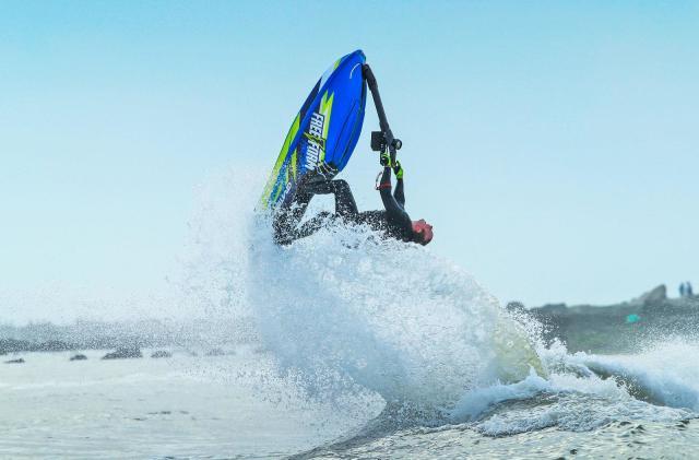 Electric jet ski promises eco-friendly watersports