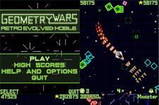 Geometry Wars dumbed down for celly release