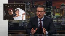 John Oliver mocks the royal wedding and media coverage of it