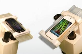 SkyLight combines iPhones and microscopes