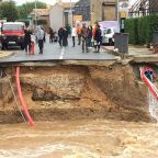 France flash floods: 13 killed as people swept away by raging torrents