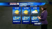 Chilly start to your Wednesday