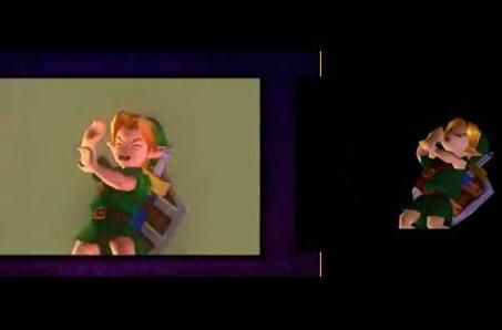 Majora's Mask comparison video highlights 3DS enhancements