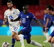 N'Golo Kante stars as Chelsea resist Porto to reach Champions League semi-finals