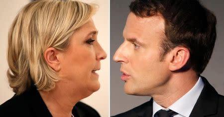 Macron y Le Pen se enfrentan en un debate televisivo