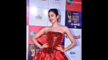 Woah! Janhvi Kapoor Spills Fairy Tale Charm With Her Victorian Red Gown