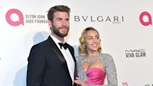 Miley Cyrus and Liam Hemsworth appear to have just got married