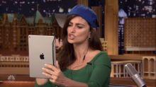 Penélope Cruz Can't Get Enough Dubsmash on 'Tonight Show'