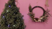 Guirlanda natural vira decoração para o ano todo