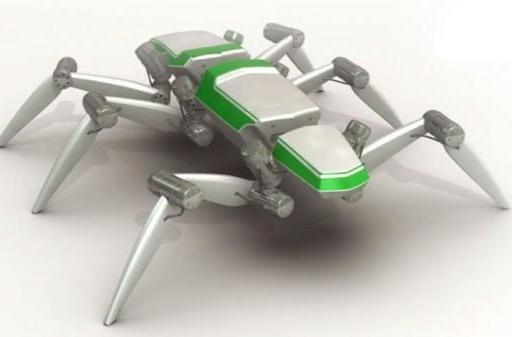 HECTOR insect-inspired hexapod walking robot is a smooth operator (video)