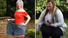 Woman loses 10 stone and halves her body weight after years of bullying