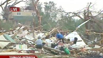 Gov. Fallin Talks About Recovery After Tornado Outbreak