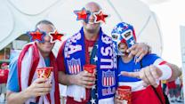 No doubt in USA fans' minds about advancing