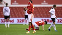Lewis Grabban misses late chance in frantic finale as Nottingham Forest held to a draw by Rotherham