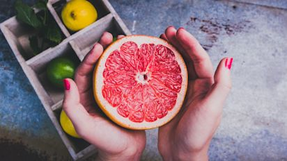 Here's why you should think twice before eating grapefruit and taking medication