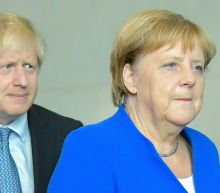 During Johnson visit, Merkel voices hope on avoiding Brexit chaos