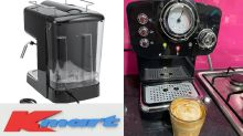 Kmart's $89 coffee maker gets rave reviews: 'Better than a cafe!'