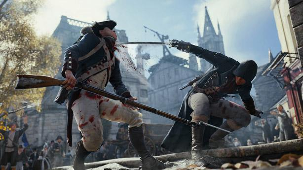Assassin's Creed Unity video steals your attention