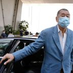 Hong Kong freezes listed shares of media tycoon Lai under security law