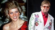 Elton John Remembers Princess Diana on 20th Anniversary of Her Death: 'The World Lost an Angel'