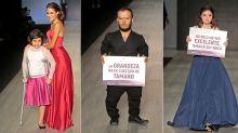 FOTOS | Feria de moda con pasarelas incluyentes en México