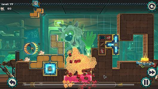 Tetris meets Lemmings in Mousecraft, coming this summer