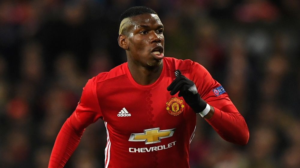 Pogba, Bailly, Smalling and Jones train for Manchester United ahead of Celta trip