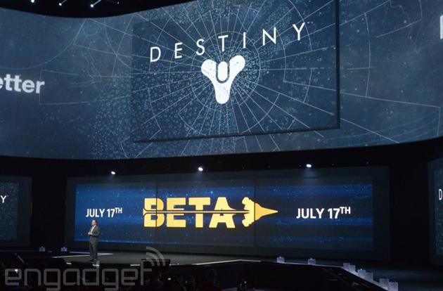 'Destiny' Beta coming to PlayStation 4 on July 17th, Xbox One and 360 on July 23rd