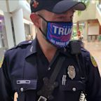 Called out for 'voter intimidation,' Florida officer faces discipline for wearing 'Trump 2020' mask at polling place