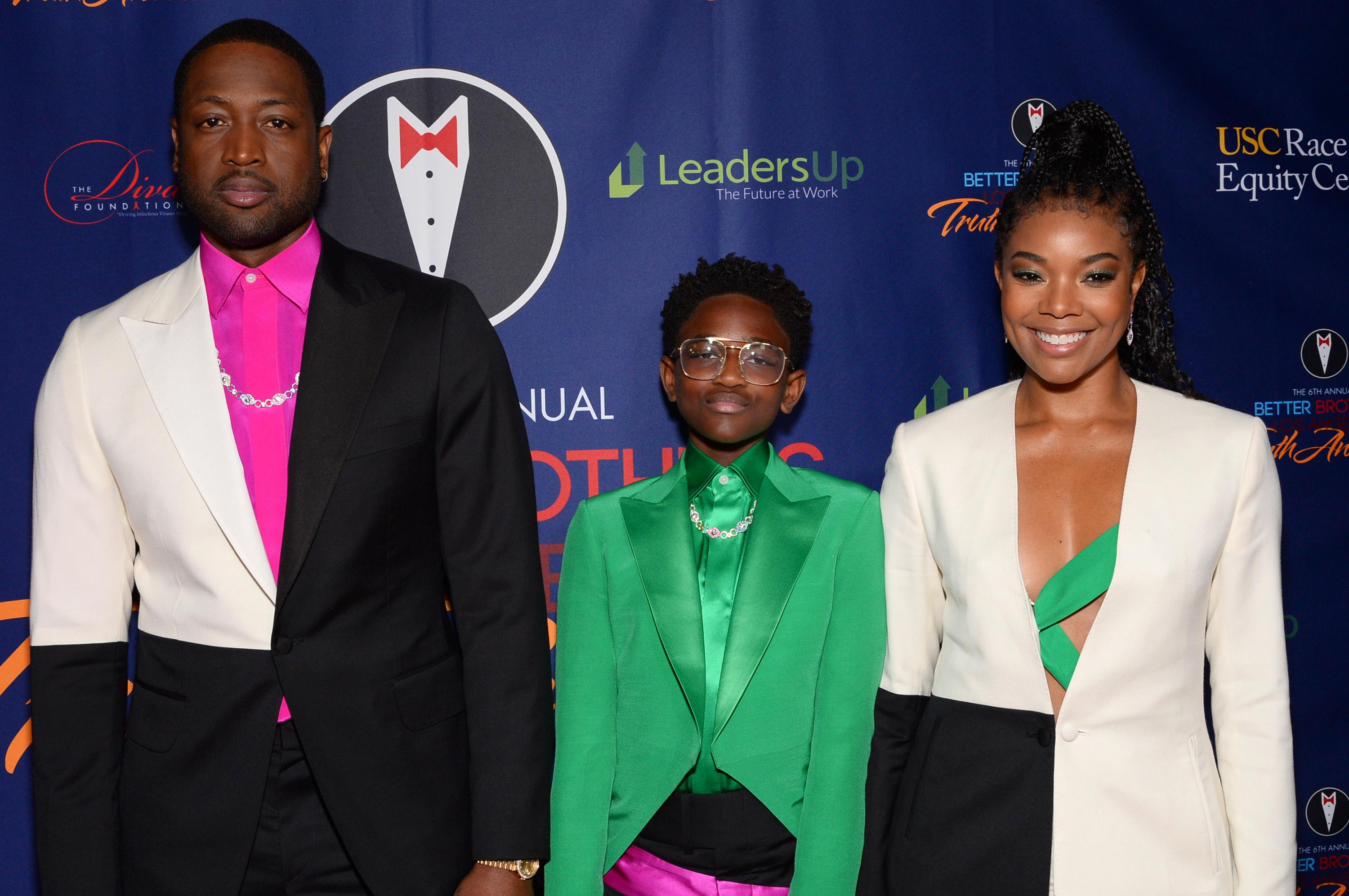 Dwyane Wade and daughter Zaya show off dyed 'dos: 'Red hair don't care'