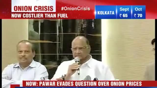 Pawar ducks question on onion prices