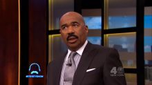 Steve Harvey doesn't seem to know his staff's names