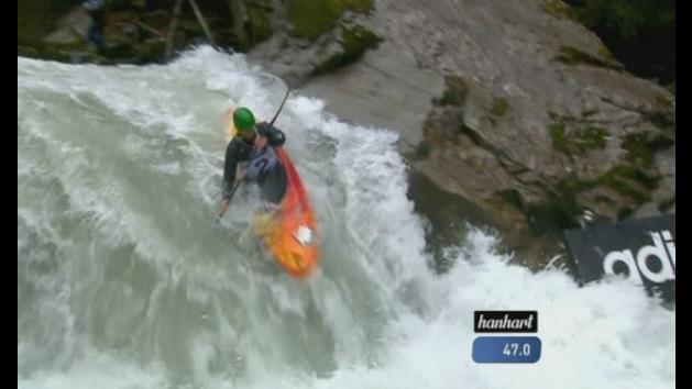 Raging torrents at the Extreme Kayaking World Championships