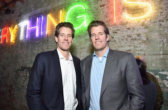 Facebook reportedly courting help from Winklevoss twins for its cryptocurrency