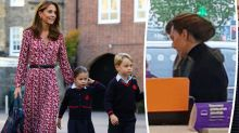 Duchess Kate takes George and Charlotte Halloween shopping at local supermarket