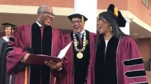 Billionaire philanthropist Robert Smith shocks Morehouse grads by promising to pay off loans
