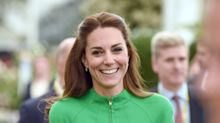 Kate Wears Coat Dress By Diana's Go-To Designer For First Visit To Chelsea Flower Show