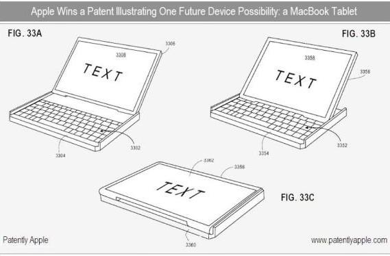 Apple patent teases convertible laptop / tablet