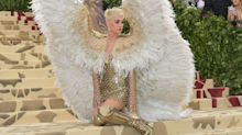 Katy Perry wore actual angel wings to the Met Gala