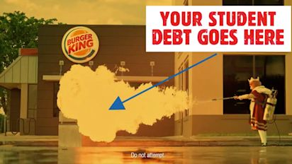 Burger King wants to help grads pay off their student loans