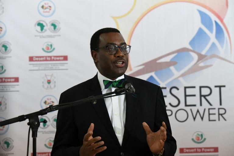 Akinwumi Adesina, known to favour elegant suits and bow ties, became the first Nigerian to helm the African Development Bank in 2015 (AFP Photo/ISSOUF SANOGO)